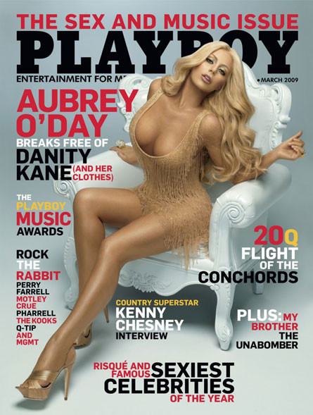 Aubrey O'Day's Playboy Cover