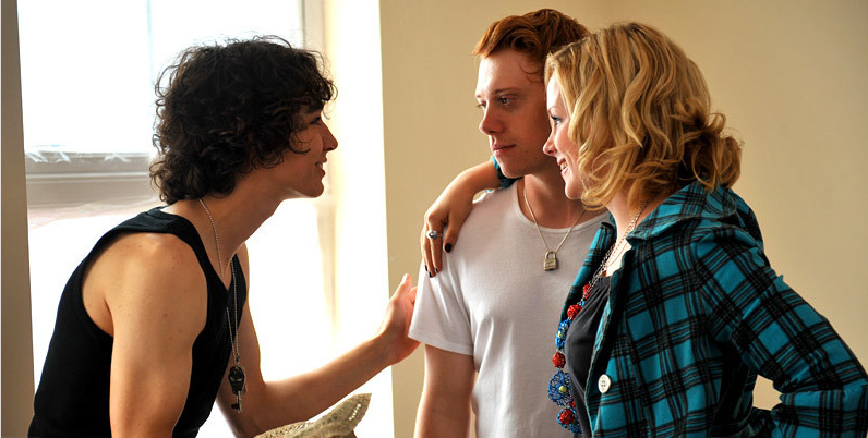 Robert Sheehan, Rupert Grint, Kimberley Nixon in Cherrybomb/© Generator Entertainment