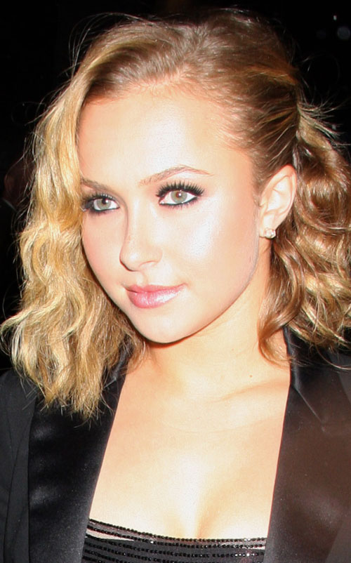 Hayden Panettiere out in New York City.  Photo: Infdaily.com