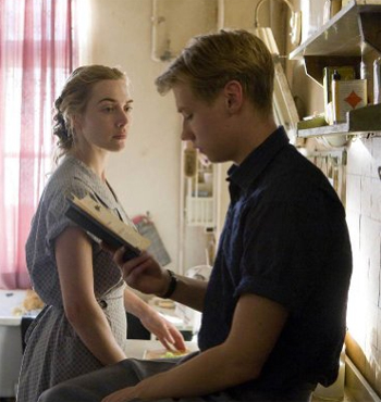 Kate Winslet, David Kross in The Reader