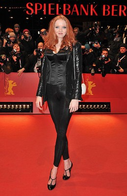 Lily Cole, 59th Berlinale