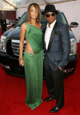 Rihanna & Ne-Yo At Grammys In 2007  Photo: Wireimage.com