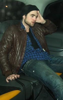 Robert Pattinson in London.  Photo: Splashnewsonline.com