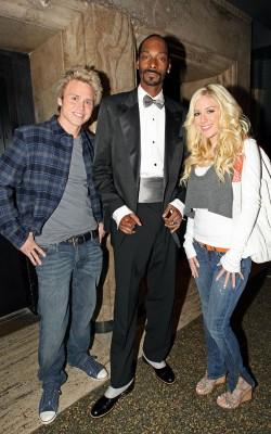Snoop With Heidi & Spencer.  Photo: PacificCoastNewsOnline.com
