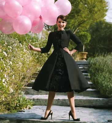 Emma Roberts / Glamour Magazine
