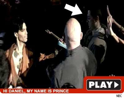 Prince on Leno Guitar www.tmz.com