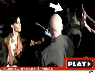 Prince on Leno Guitar www.tmz.com