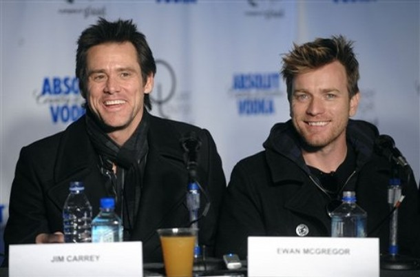 Jim Carrey, Ewan McGregor / ©AP