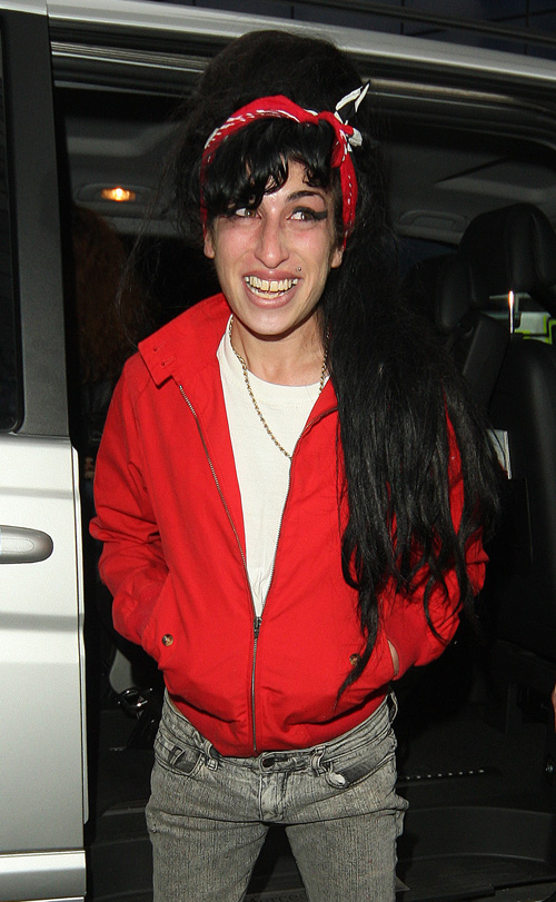 Amy Winehouse Returns To London.  Photo: INFDaily.com