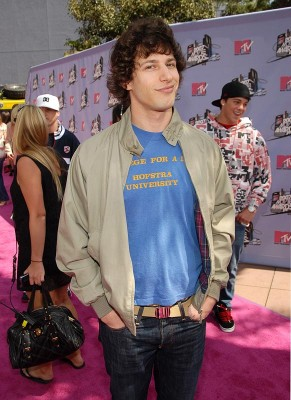 Andy Samberg Attends MTV Movie Awards.  File Photo