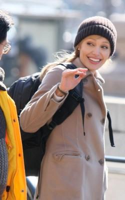 Angelina Jolie Filming Salt.  Photo: Flynetonline.com