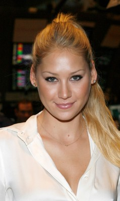 Anna Kournikova Returns.  Photo: Gettyimages.com