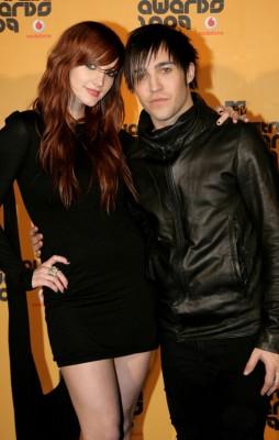 Ashlee Simpson and Pete Wentz. WireImage.com