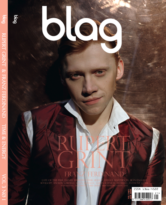 I'm too sexy for my wand...Rupert Grint / Blag magazine