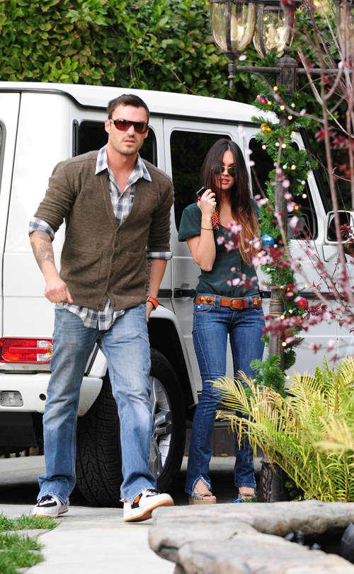 Brian Austin Green & Megan Fox Together. Photo: Bauergriffen.com