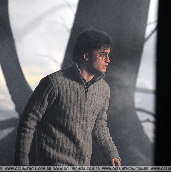 Daniel Radcliffe, Deathly Hallows / Photo Oclumencia.com.br