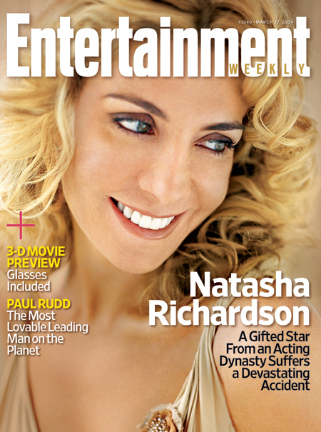 Natasha Richardson, Entertainment Weekly