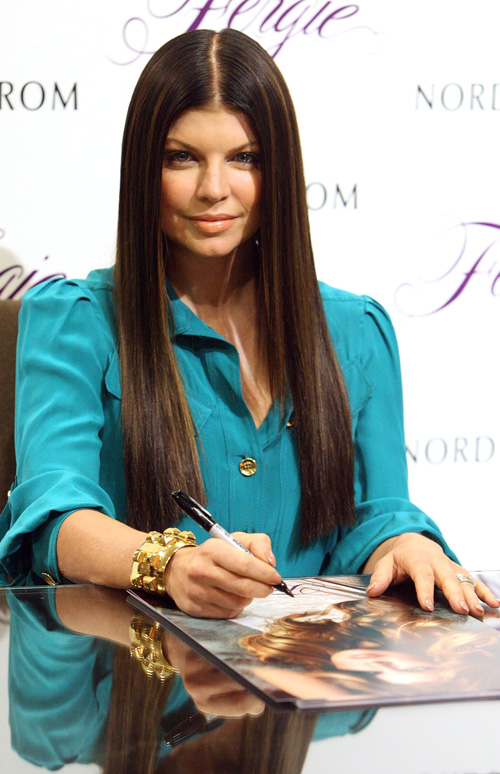 Fergie At Nordstrom At the Grove:  Photo: Gettyimages.com