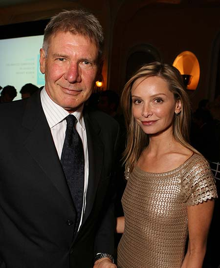 Harrison Ford & Calista Flockhart.  Wireimage.com