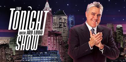 Tonight Show Set Tonight Show With Jay Leno