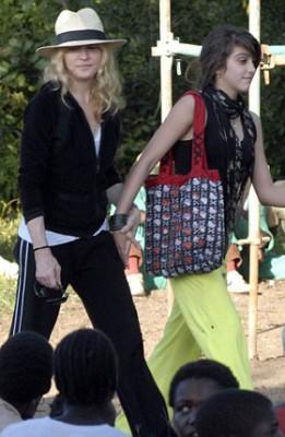 Madonna With Daughter Lourdes.  Photo: AP Wire