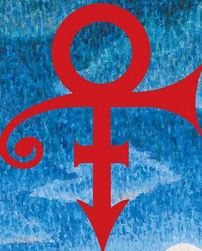Prince's Symbol. Photo: Coachella Poster 2008