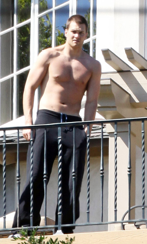 Tom Brady In Pacific Palisades. Photo: INFDaily.com