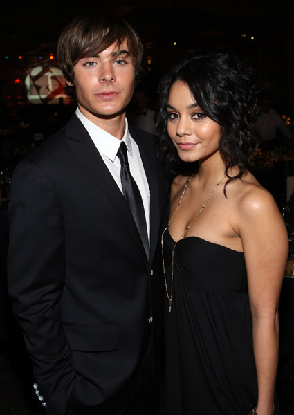 Zac and Vanessa File Photo