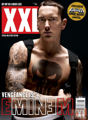 Eminem Courtesy of XXL Magazine