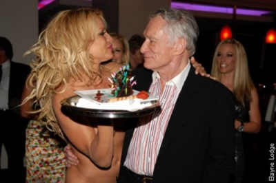 Hef and Pammy Eonline.com