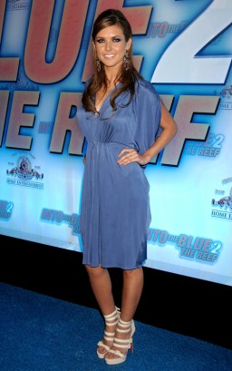 "Audrina Patridge Attends ""Into The Blue 2""  Photo: Wireimage.com"