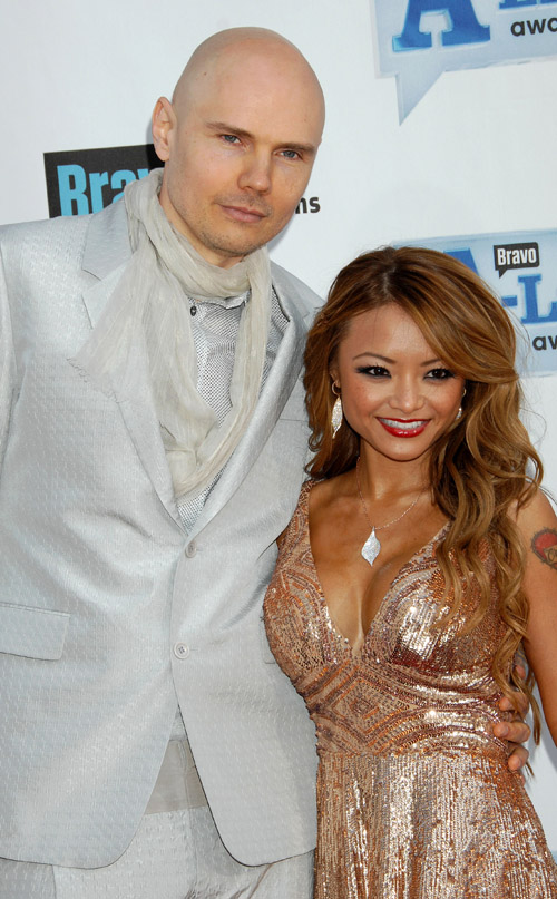 Billy Corgan & Tila Tequila.  Photo: Uncredited
