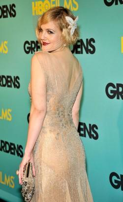 "Drew Barrymore At ""Grey Gardens"" Premiere.  Photo: Wireimage.com"