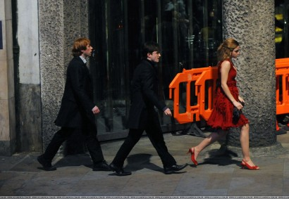 Rupert Grint, Daniel Radcliffe, Emma Watson / Photo: Oclumencia.com.br