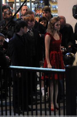 Daniel Radcliffe, Rupert Grint, Emma Watson / Photo: Oclumencia.com.br