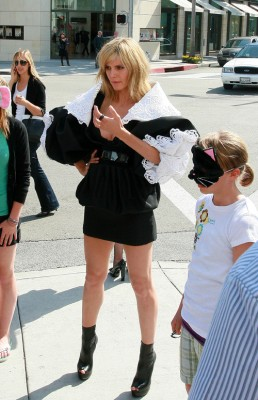 The Mystery Blonde Is...Photo:Splashnewsonline.com