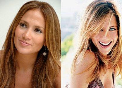 Jennifer Lopez & Jennifer Aniston Fight.  File Photo