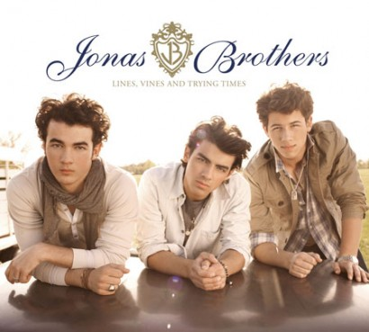 Jonas Brothers New CD Cover Promotional Photo