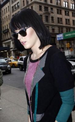 Katy Perry In New York.  Photo: INFdaily.com