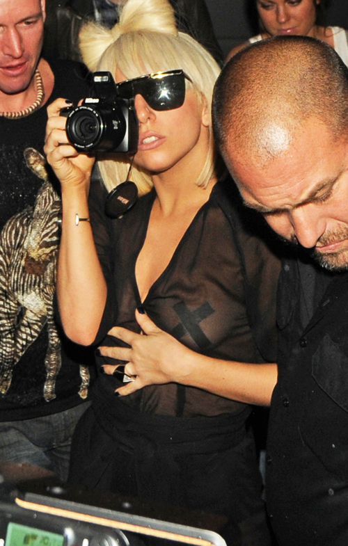 Lady GaGa Does Not Want Your Attention.  Photo: Flynetonline.com