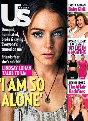 Lindsay Lohan usmagazine.com