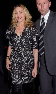 Madonna In London.  Photo: Flynetonline.com