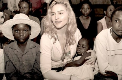 Madonna & Mercy.  Uncredited Photo For Now...