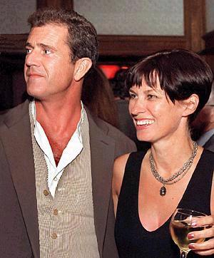 Mel Gibson & Robyn In Happier Times.  File Photo