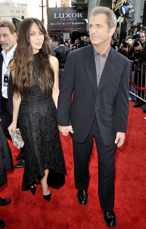 Mel Gibson & Oksana Grigorieva Together.  Photo: Gettyimages.com