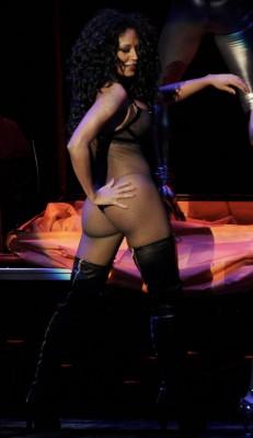 Melanie B & The Scary Peep Show.  Photo: Splashnewsonline.com