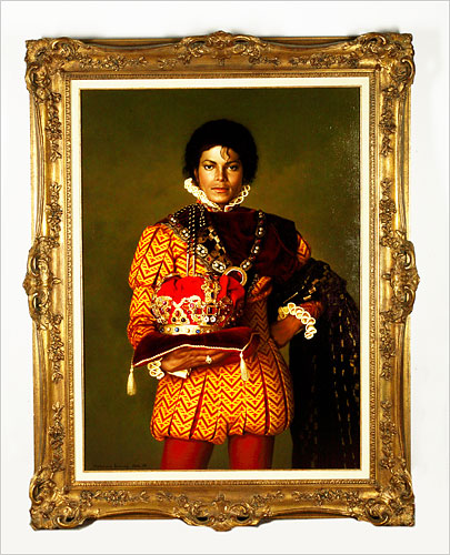 Michael Jackson The King Of Auctions.  Photo: Shaan Kokin