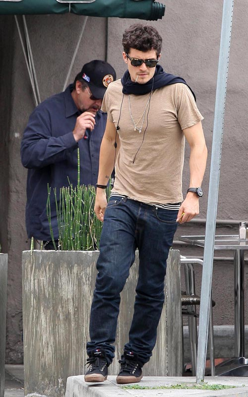 Orlando Bloom Out In West Hollywood.  Photo:Flynetonline.com