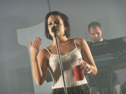Lilly Allen In New York.  Docfb.com Exclusive.  Photo: GED