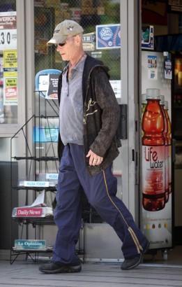 Patrick Swayze Last Week In L.A.  Famepictures.com